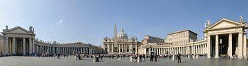 Het Vaticaan, the Vatican. Sint Pieterskerk. Rome, Italy von Martin Stevens