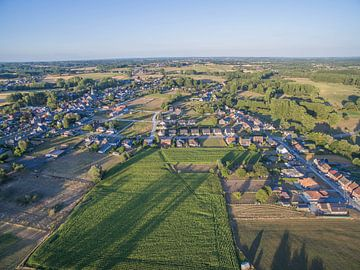 Landschap vanuit de lucht von Glenn Collyns