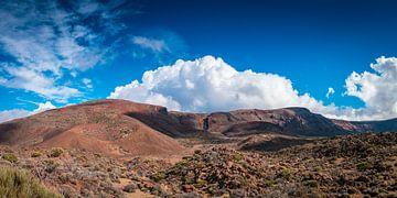 Paysage volcanique à Ténériffe sur Martin Wasilewski