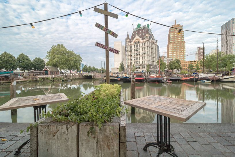 Oude haven Rotterdam van AdV Photography