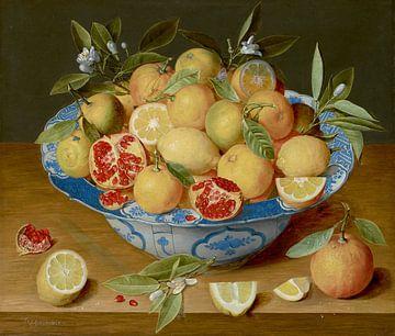 Nature morte aux citrons, oranges et grenade, Jacob van Hulsdonck sur
