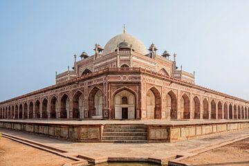 India, Delhi, Humayun's Tomb, gebouwd door Hamida Banu van Tjeerd Kruse