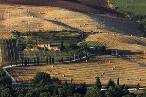 Boerenhoeve nabij Monticchielo Toscane van