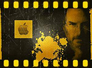 Steve Jobs Gold Apple Pop Art