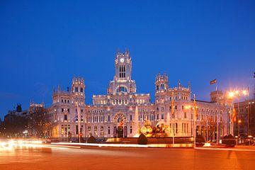 Plaza de Cibeles, Madrid, Spanien, Europa