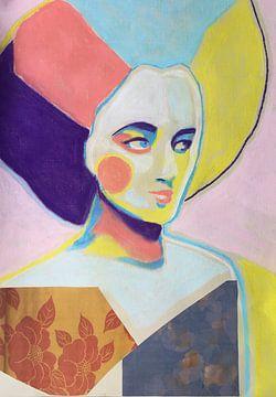Von Dämmerung bis Rosa von Helia Tayebi Art
