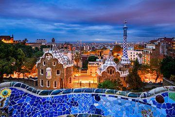 Park Guell in Barcelona von Michael Abid