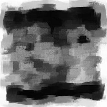 Abstrakte Pinselstriche V von Maurice Dawson