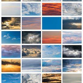 Poster von Wolkenbildern von Daan Kloeg