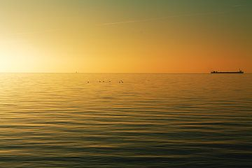 Sunrise Island Ameland von Nicole Nagtegaal