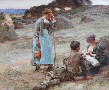 Die Stunde des Babys, Léon Augustin Lhermitte