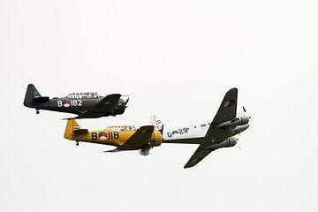 Historic flight Koninklijke Luchtmacht van Wim Stolwerk