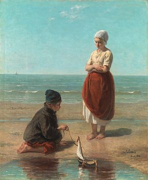 Kinder des Meeres, Jozef Israëls