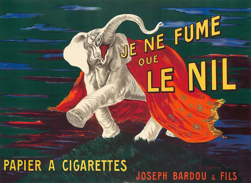 Je Ne Fume Que Le Nil, Leonetto Cappiello von Meesterlijcke Meesters