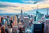 New York Skyline von oben von Sascha Kilmer Miniaturansicht