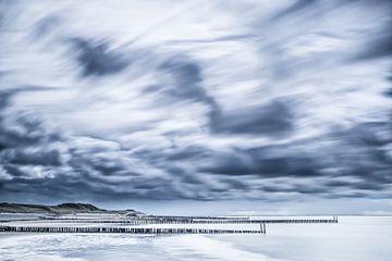 Strand Westkapelle von Tonia Beumer