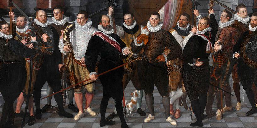 Die Kompanie von Captain Dirck Jacobsz Rosecrans und Lieutenant Pauw, Cornelis Ketel von Meesterlijcke Meesters