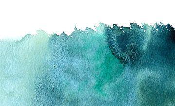 There is something in the water van WatercolorWall