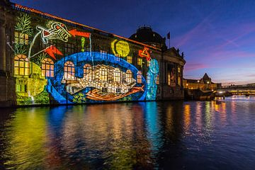 Bodemuseum Berlijn in bijzonder licht