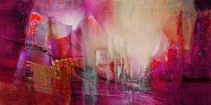 Doorzichtigheid: rood ontmoet magenta en roze