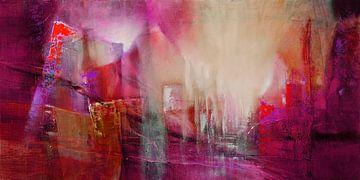 Doorzichtigheid: rood ontmoet magenta en roze van Annette Schmucker