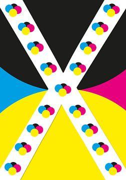 X-CMYK von Ellen Voorn