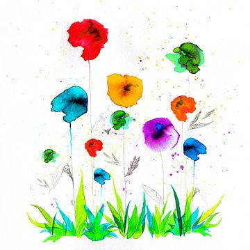 Blumenparty von keanne van de Kreeke