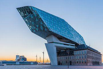 Hafenkopf in Antwerpen von Karin Riethoven