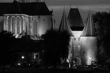 Koornmarktspoort en Bovenkerk, Kampen van Gerrit Veldman