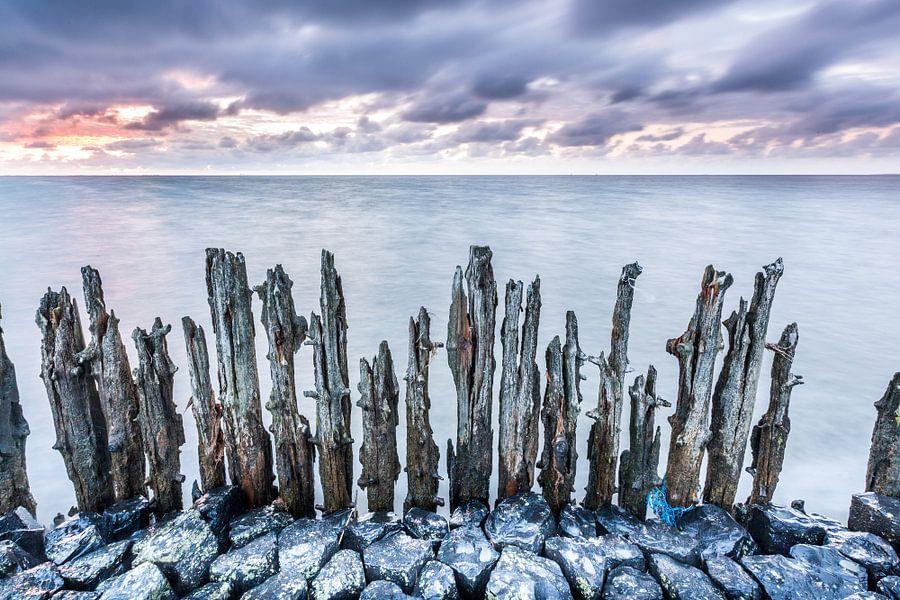 Oude zeewering Moddergat van Jurjen Veerman