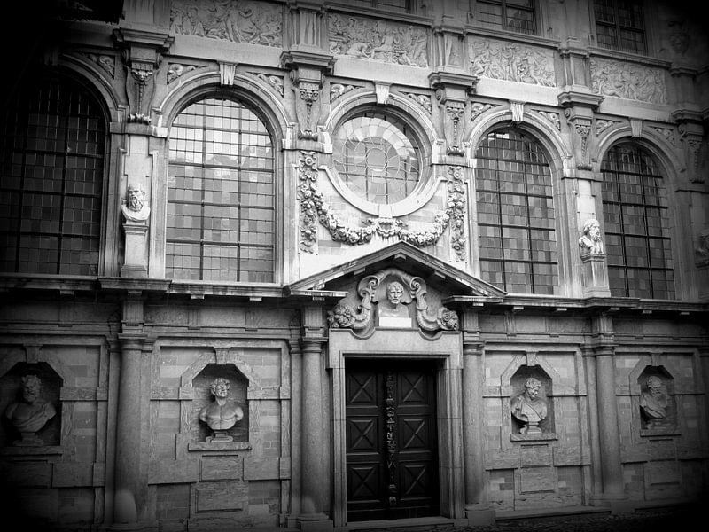 Ancient Building Antwerpen van Nicky`s Prints