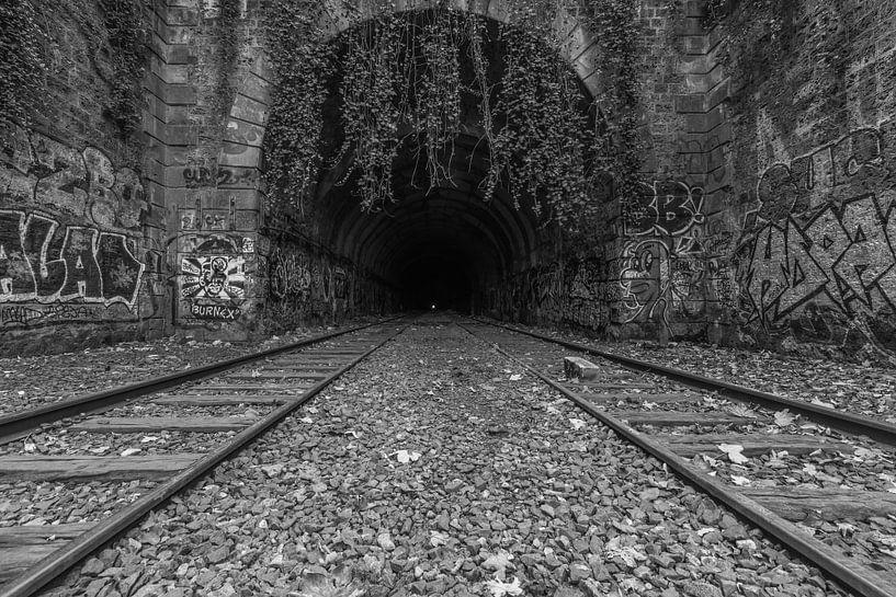 Het verlaten spoor in Parijs van MS Fotografie   Marc van der Stelt