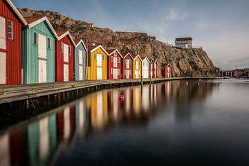 Smögen, een klein vissersdorpje in Zweden van Gerry van Roosmalen