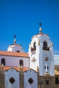 Kirchturm auf der Kanarischen Insel Teneriffa sur Rico Ködder