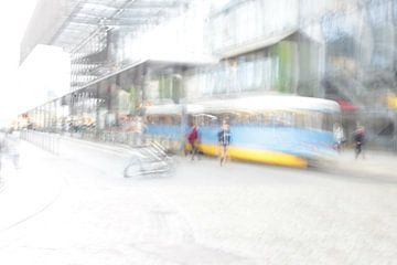 Straßenbahnhaltestelle van Heike Hultsch