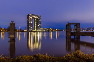 De Tasmantoren in de stad Groningen von Arline Photography