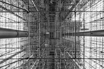 Constructie van steigers van Rob van Esch