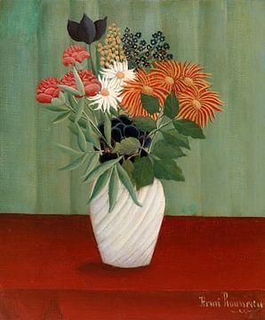 Blumenstrauß, Henri Rousseau - 1910