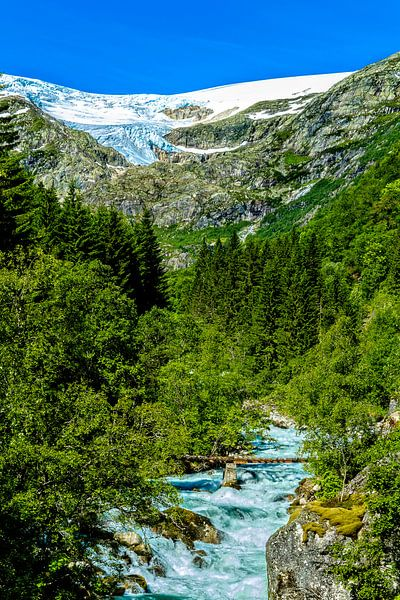 Folgefonna Gletsjer van Joost Lagerweij