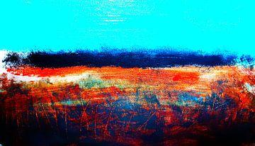 Landscape Abstract von M.A. Ziehr