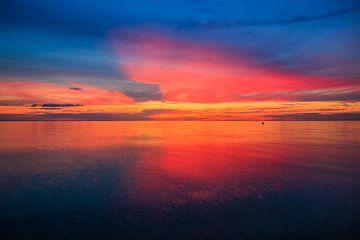 Heavenly fire on the island of Fehmarn von Ursula Reins