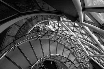 Treppe im Rathaus London von Wytze Plantenga