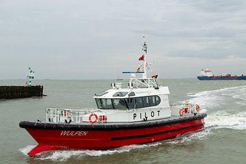 Loodsboot Wulpen Vlissingen van MSP Canvas