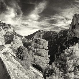 Panorama van de Gorges du Verdon von Tammo Strijker
