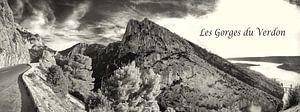 Panorama van de Gorges du Verdon van