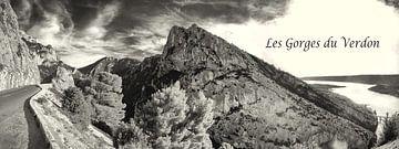 Panorama van de Gorges du Verdon van Tammo Strijker