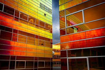 UWV-Gebäude Almere von Rene  den Engelsman