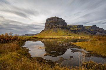 De prachtige berg Lómagnúpur in het zuiden van IJsland van Paul Weekers Fotografie