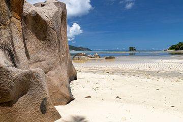 Strand Anse Source D'Argent auf der Seychellen Insel La Digue von Reiner Conrad