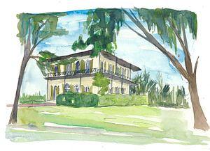 Schlüssel Westen Florida Conch Träume - Hemingway Haus von
